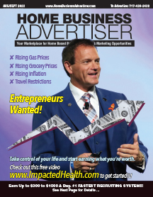 Current Issue of Home Business Advertiser